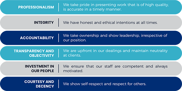 bonakude core values